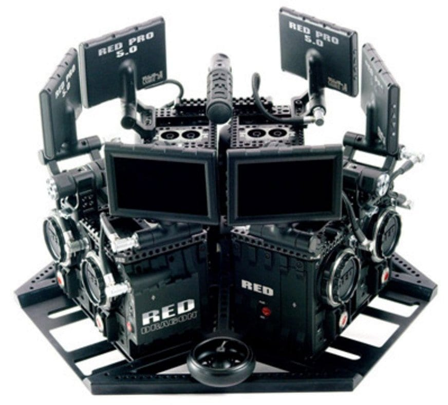 360 Video Red Rig