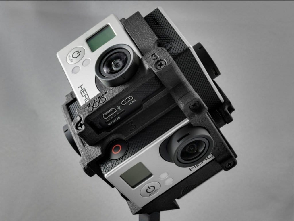 360 Video Production Go Pro Rig